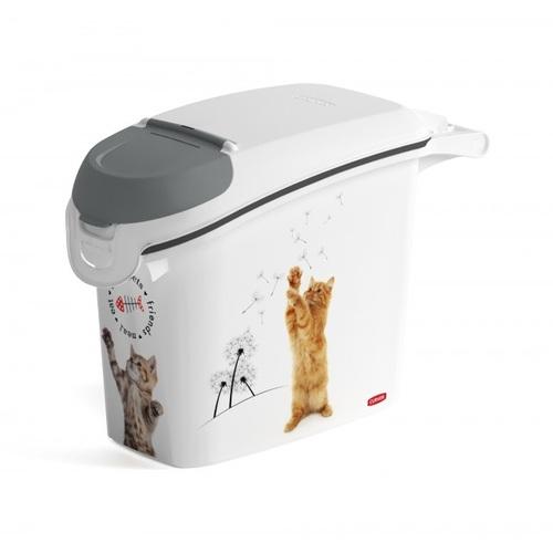 CURVER kontejner na suché krmivo 6kg kočka 03883-L30
