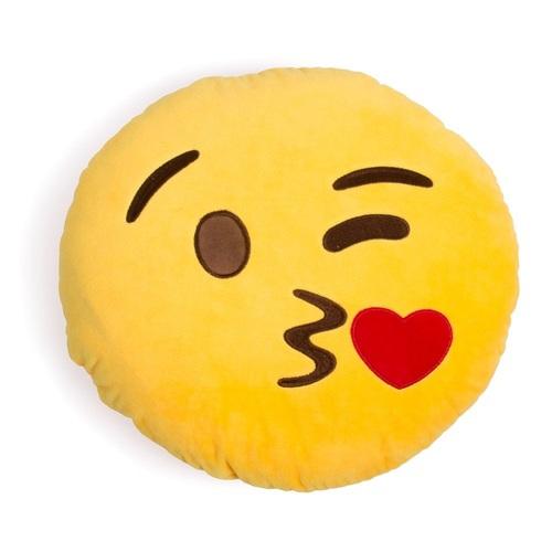 ALDOTRADE Polštář smajlík Emoji KISS