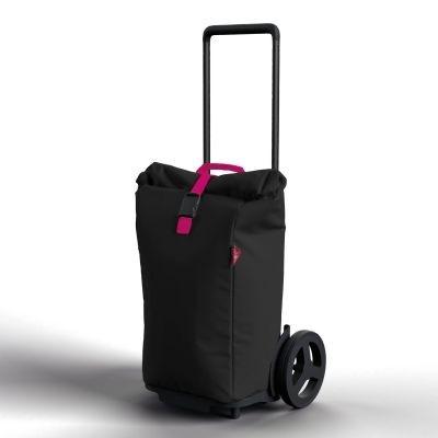 Nákupní taška na kolečkách Kool černá