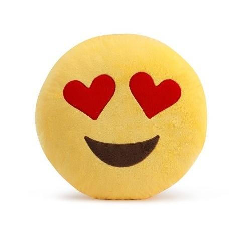ALDOTRADE Polštář smajlík Emoji LOVE