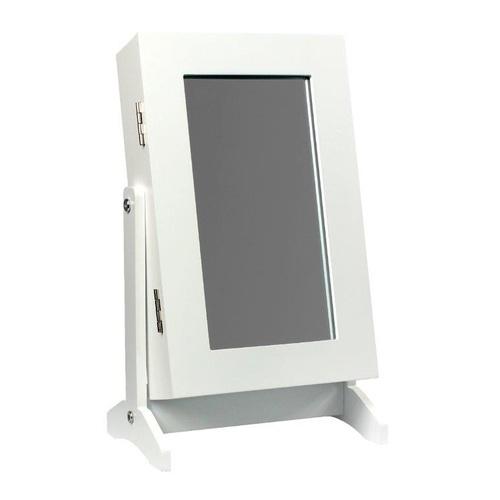 ALDOTRADE Stolní šperkovnice se zrcadlem 21x15x35 cm