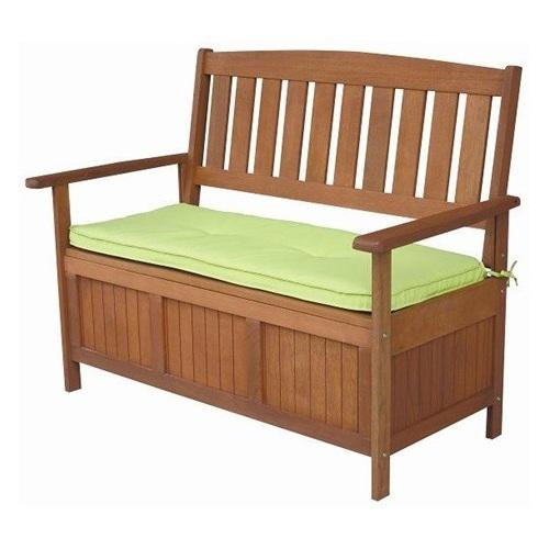 ALDOTRADE dřevěná lavice DIANA s úložným prostorem