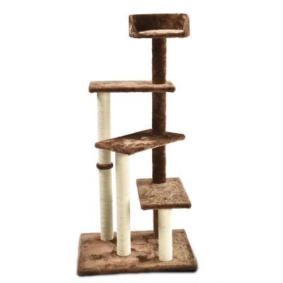 ALDOTRADE Škrabadlo pro kočky Rita 60x49x125 cm