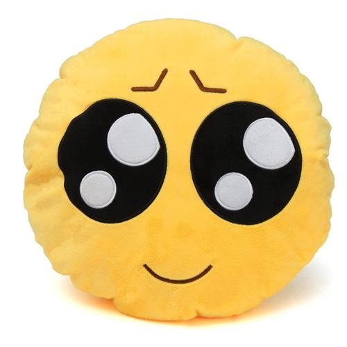 ALDOTRADE Polštář smajlík Emoji SAD