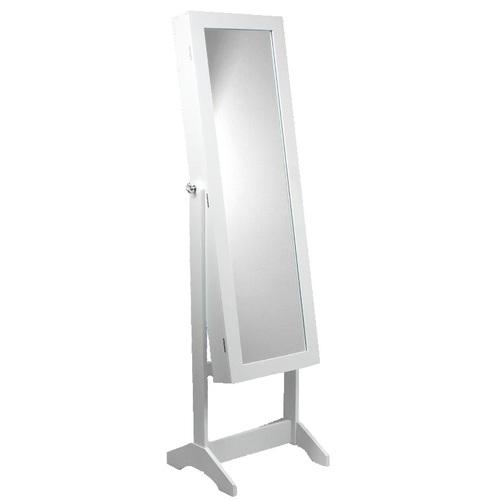 ALDO Stojící šperkovnice se zrcadlem 34x35,5x140 cm