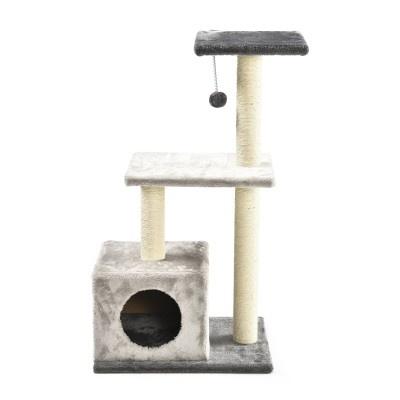 ALDOTRADE Škrabadlo pro kočky Sisi 49x36,5x90 cm