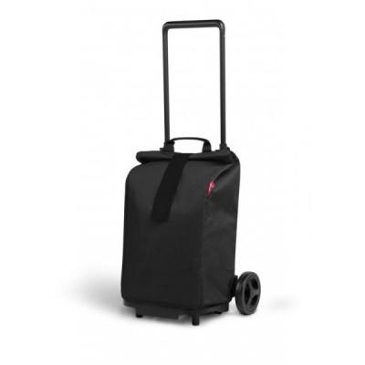 Nákupní taška na kolekčách Sprinter černá