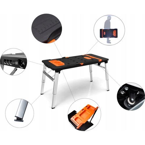 ALDOTRADE Multifunkční pracovní stůl 7v1