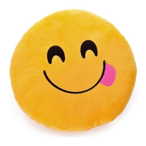 ALDOTRADE Polštář smajlík Emoji TONGUE