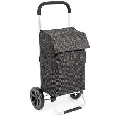 ALDOTRADE nákupní taška na kolečkách VIENA černá