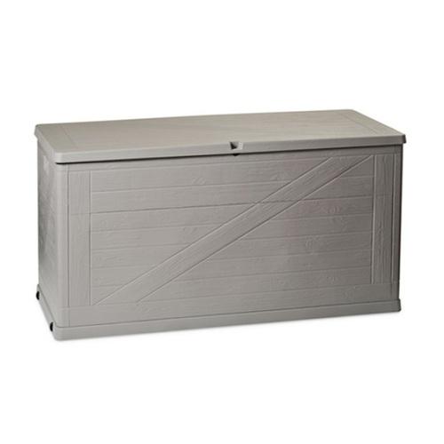 ALDOS zahradní box na polstry Wood  420l šedý